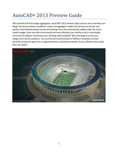 AutoCAD 2012 Preview Guide