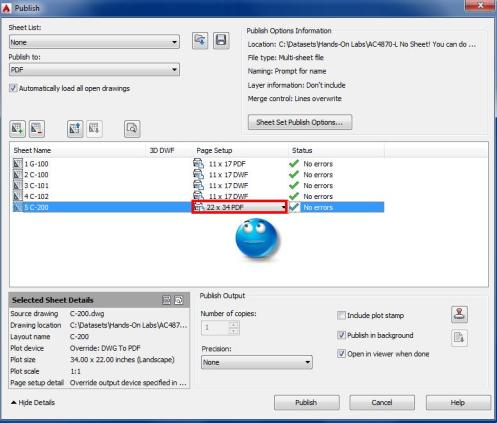 02-Publish Dialog Box
