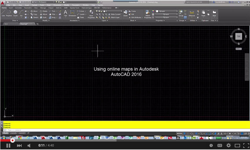 Adding aerial maps in autodesk autocad cadprotips gumiabroncs Image collections