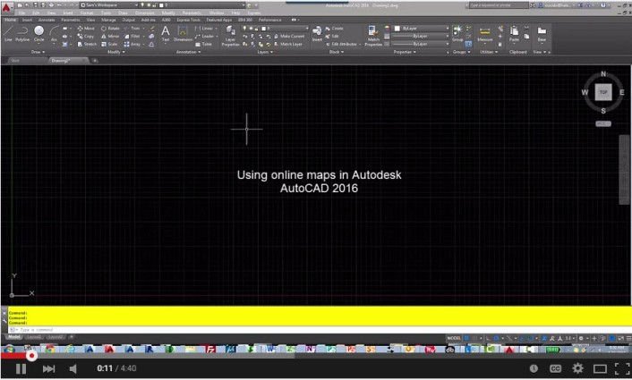 Adding Aerial Maps in Autodesk AutoCAD | CADproTips