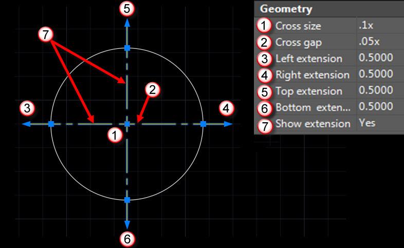 Center Marks and Centerlines in AutoCAD | CADproTips