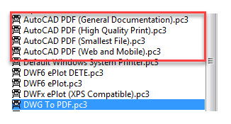 AutoCAD Layers in a PDF file | CADproTips