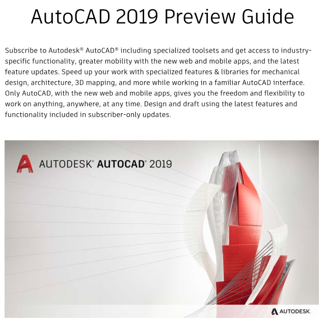 autodesk autocad preview guides cadprotips rh cadprotips com AutoCAD 2008 AutoCAD 2009 64-Bit
